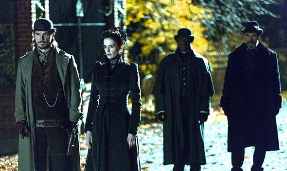 Josh Harnett y Eva Green protagonizan 'Penny Dreadful'