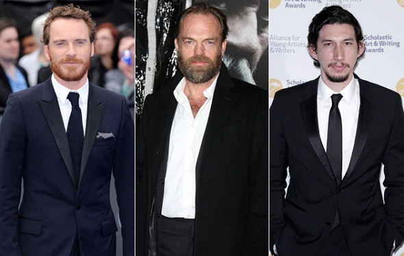 Michael Fassbender, Hugo Weaving y Adam Driver, candidatos a 'Star Wars VII'