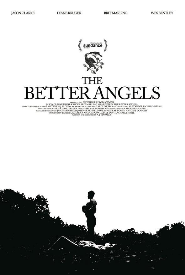 Póster de 'The better angels'
