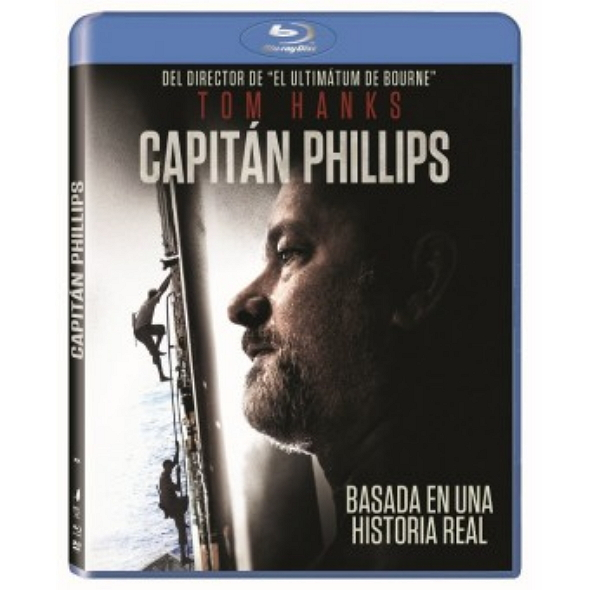 'Capitán Phillips' en Blu Ray