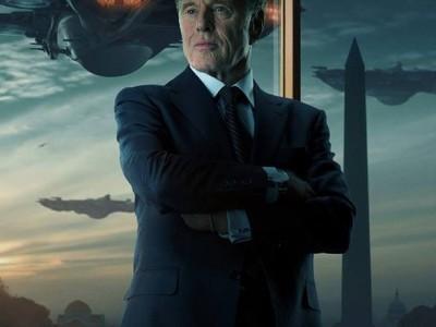 Capitán América El Soldado de Invierno. Póster de Robert Redford.