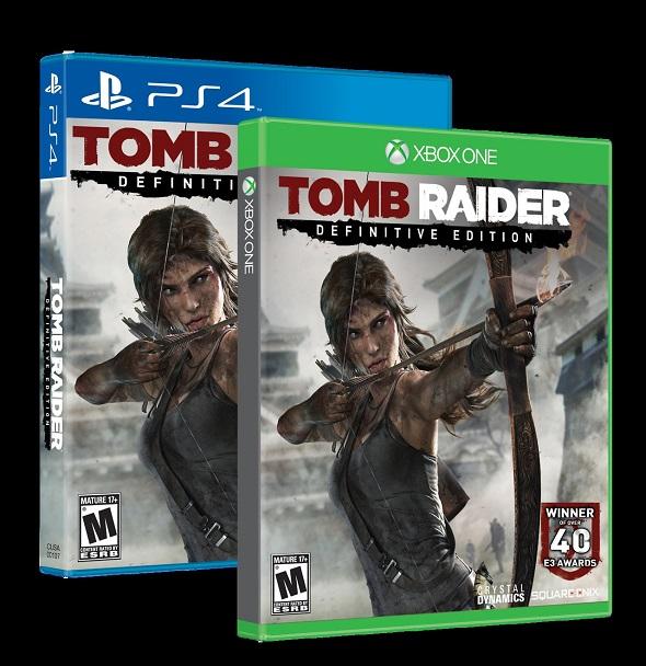 Tomb-Raider. Carátulas