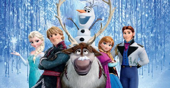 'Frozen', mejor película de animación