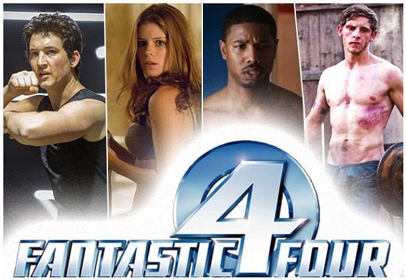 Nuevo reparto para la nueva versión de 'Los 4 fantásticos'