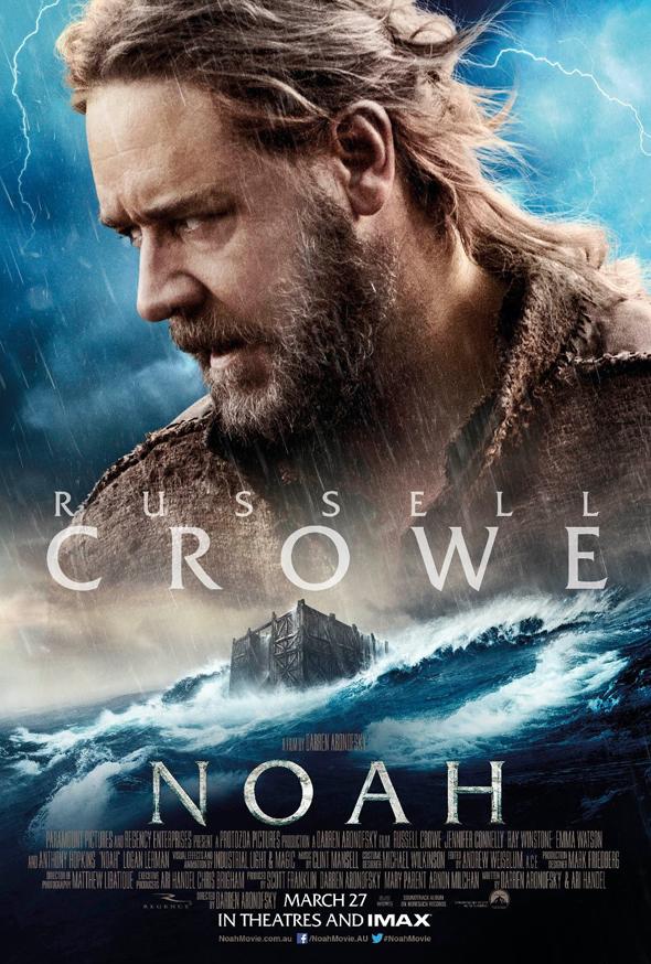 Póster de 'Noé' con Russell Crowe