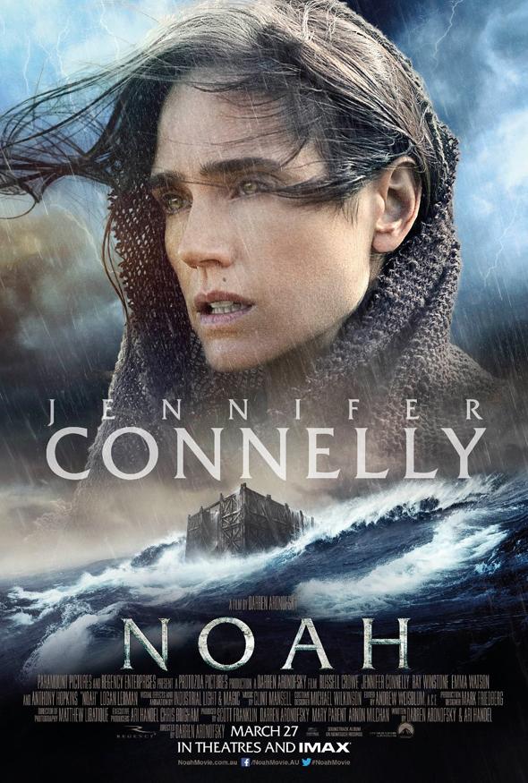 Póster de 'Noé' con Jennifer Connelly