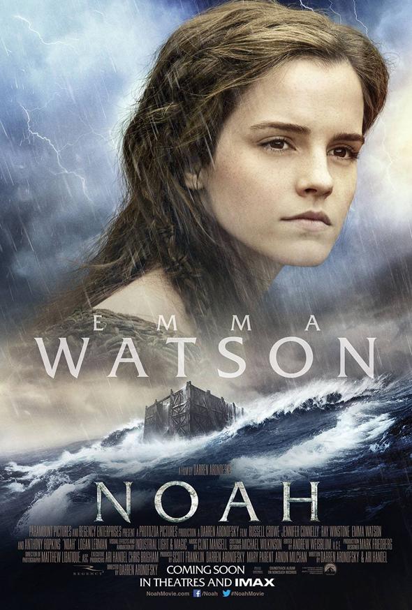 Póster de 'Noé' con Emma Watson