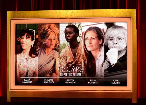 Actrices de reparto nominadas al Oscar 2014