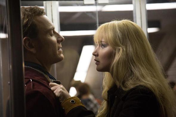 Tensión entre Michael Fassbender y Jennifer Lawrence en 'X-Men: Días del futuro pasado'