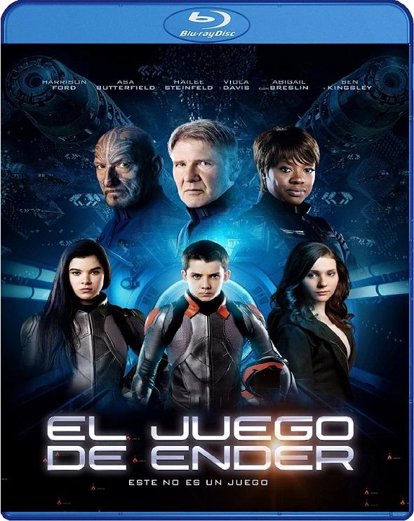 Edición Blu-ray para 'El juego de Ender'