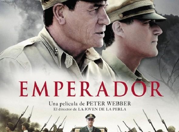 Emperador. Póster español de la película.