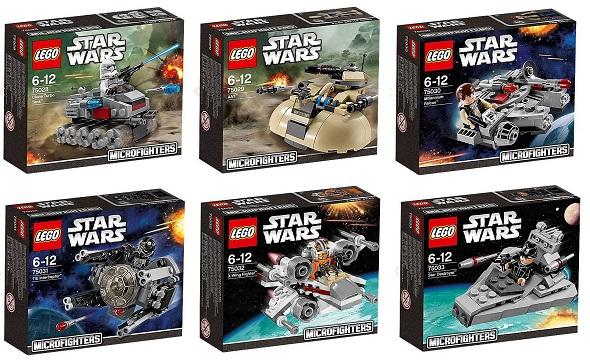 Viajamos al espacio con LEGO y seis naves de Star Wars reducidas a ...
