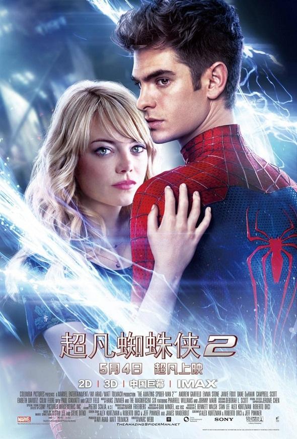 Póster chino de 'The amazing Spider-Man 2: El poder de Electro'