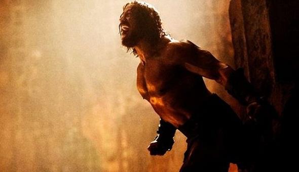 'The Rock' se libera de sus cadenas en 'Hércules'