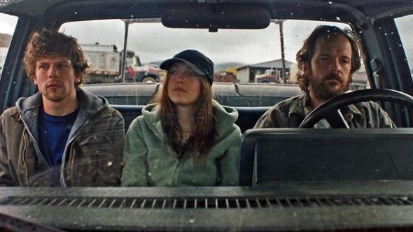 Eisenberg, Fanning y Sarsgaard en 'Night moves'