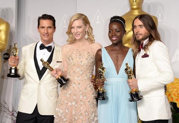 Los cuatro actores ganadores del Oscar