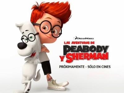 'Las aventuras de Peabody y Sherman' carrusel