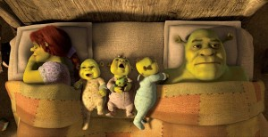 Shrek y familia