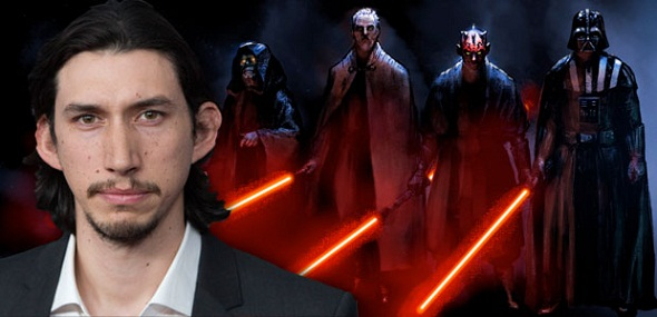 Adam Driver, villano de 'Star Wars VII'