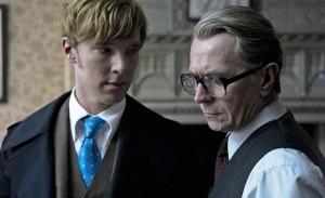 Benedict Cumberbatch y Gary Oldman en 'El topo'