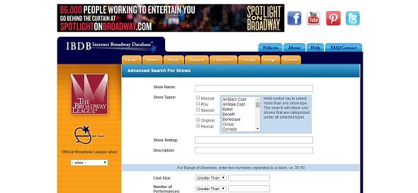 IBDB - Internet Broadway Database