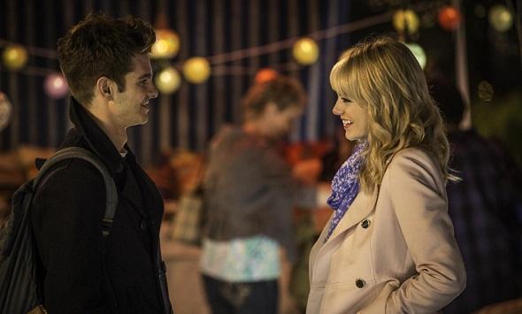 Andrew Garfield y Emma Stone en 'The amazing Spider-Man 2: El poder de Electro'