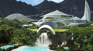 Aspecto que lucirá la isla de Nublar en 'Jurassic World'