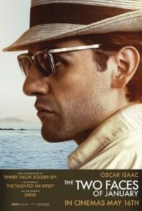 Póster de Oscar Isaac para 'Las dos caras de enero'
