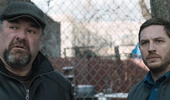 James Gandolfini y Tom Hardy en 'The drop'