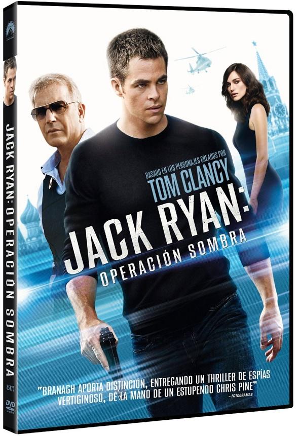 Jack Ryan: Operación Sombra. Edición DVD