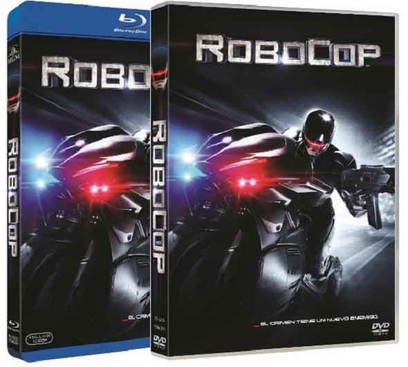 Robocop. Ediciones BD y DVD.