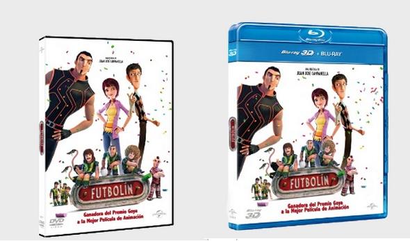 Edición DVD y BD de Futbolín