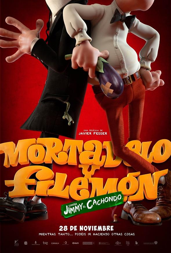 Mortadelo y Filemón. Póster de la película