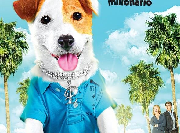Pancho, el perro millonario. Póster de la película