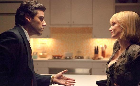Oscar Isaac y Jessica Chastain en 'A most violent year'