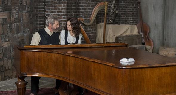 Jeff Bridges y Taylor Swift en 'El dador'
