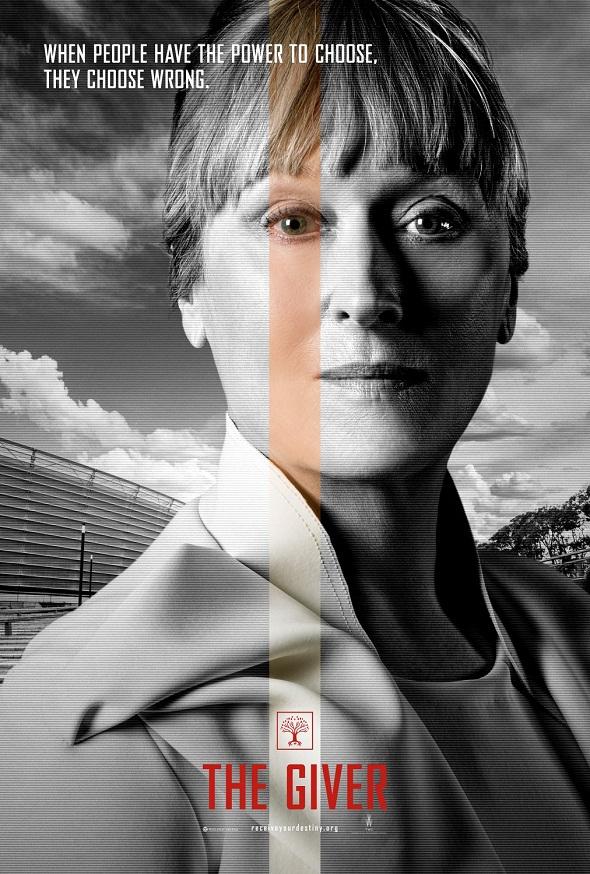 Póster de Meryl Streep de 'El dador'