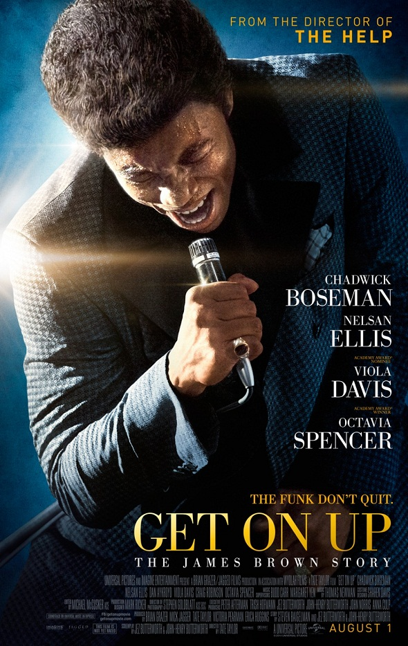 Póster de 'Get on up'