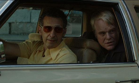 John Turturro y Philip Seymour Hoffman en 'God's pocket'