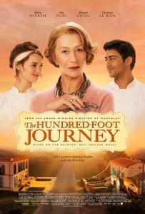 Póster de 'The hundred-foot journey'