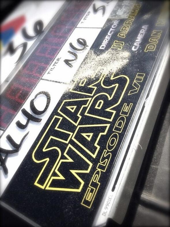 Rodaje Star Wars VII