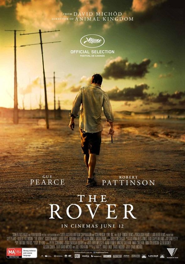 Póster de 'The rover' con un solitario Guy Pearce