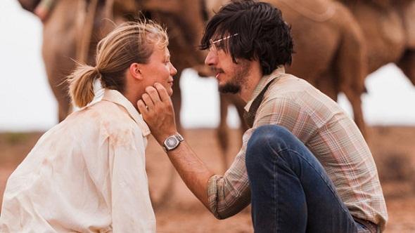 Mia Wasikowska y Adam Driver en 'Tracks'