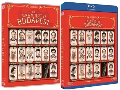 El gran hotel Budapest. Ediciones en DVD y BD