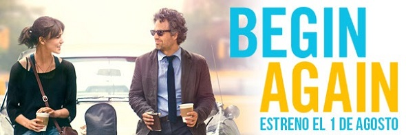 Estreno de Begin Again