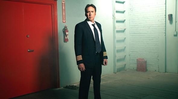 Nicolas Cage, piloto en 'Left behind'