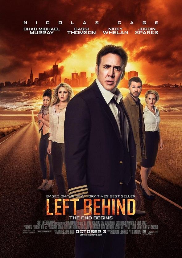 Póster de 'Left behind'