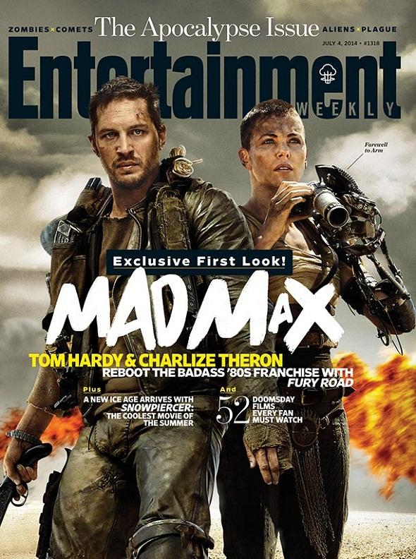 Portada de Empire sobre 'Mad Max: Fury road'