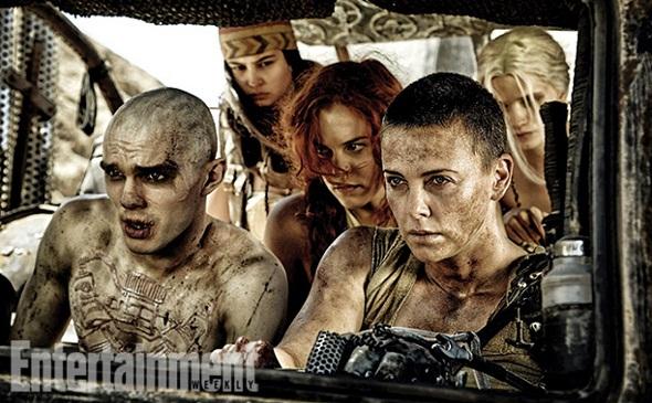 Charlize Theron, líder rebelde en 'Mad Max: Fury road'