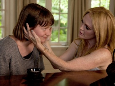 Mia Wasikowska y Julianne Moore en 'Maps to the stars'